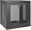 SmartRack 12U Low-Profile Switch-Depth Wall-Mount Rack Enclosure Cabinet -- SRW12U