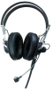 SM Series Headworn Microphone with Dual Enclosed Ear Receivers -- 6214