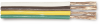 WP14-4 GPT Parallel Bonded Cable, 14/4 GA, White, Brown, Yellow, Green -- WP14-4 -Image