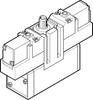 Air solenoid valve -- JMEBDH-5/2-D-3-ZSR-C -Image