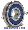 6000-2RSNR Bearing 10x26x8 Sealed Snap Ring -- Kit9460