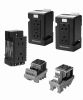 DIN-Rail Receptacle -- RS-SIMPLEX 120VAC C/B 5A OUTL - Image