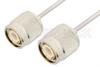 TNC Male to TNC Male Cable 18 Inch Length Using PE-SR405AL Coax -- PE34284LF-18 -Image
