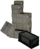 HEAVY DUTY STRAIGHT WALL STACKING CONTAINER -- HRSO1207-5