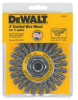 DEWALT 4 In. x 5/8 to 11 In. Arbor Carbon Cable Twist Wire -- Model# DW4930