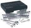 Wilton Columbian 36011 60 Piece SAE/Metric Socket Wrench Set -- WIL36011