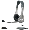 Cyber Acoustics AC-850 USB Stereo Headset with Boom Mic -- AC850