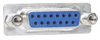 DB15 Female Connector for Field Termination with Screwless Terminal Block -- DGS15FT - Image