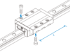 Linear Motion Guide SNR and SNS -- SNS45LC-Image