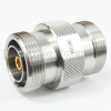 7/16 DIN Female (Jack) to 7/16 DIN Female (Jack) Adapter, Passivated Stainless Steel Body, 1.15 VSWR -- SM3384 - Image