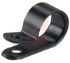 CABLE CLAMP, 1/4 INCH, black -- 70044779