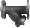 Carbon-Steel Flanged Strainer -- Series 77F-CSI - Image