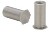 Threaded Standoffs for Stainless Sheets as Thin as 0.63mm -- TSO4-M3-800 -- View Larger Image
