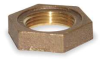 Locknut,Red Brass,1/2 In,150 PSI -- 1VFN9