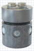 Rotary Valve Couplings -- Two Stations for Load/Unload Commonly Controlled