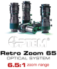 High Magnification Optical System -- Optem® Retro Zoom 65 Series - Image