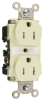 Pass & Seymour® -- Commercial Grade Tamper-Resistant Receptacles - TR15W