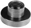 Large Pads for Swivel Screw Clamp: 5/16-18 Body Thread Size -- 31602