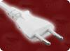 CEE 7/16 EURO 2 WHITE to IEC-60320-C7 WHITE HOME • Power Cords • International Power Cords • Europe Power Cords -- 8002.039W - Image