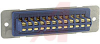 connector,rack and panel,plug w/ribbon cont,barrier polar,solder eyelets,24 cont -- 70144702