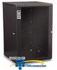 Kendall Howard 18U LINIER Fixed Wallmount Cabinet -- 3140-3-001-18
