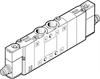 CPE10-M1CH-5/3G-M7 Solenoid valve -- 550227-Image