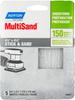 Norton MultiSand SC Fine Grit Paper PSA Cut Sheet -- 7660705446 -Image