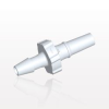 Male Luer Slip to Barb, White -- SLM4130 -Image