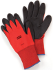 NorthFlex Red - Foamed PVC Palm Coated Gloves -- NORTHS-NF11