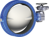 Double Flanged Butterfly Valve - Image