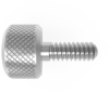 Screws, Standard Machine and Set, Thumb, Pusher, Style 2 (Short knurled head), Standard -- 18046NSDS