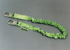 Manyard II Stretchable Shock-Absorbing Lanyards - single leg, snap hook & rebar hook, ANSI A10.32 compliant > UOM - Each -- 219M/6FTGN