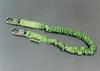Manyard II Stretchable Shock-Absorbing Lanyards - single leg, snap hook & rebar hook, ANSI A10.32 compliant > UOM - Each -- 219M/6FTGN -- View Larger Image