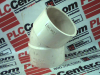 PIPE FITTING 46DEGREE ANGLE 3IN ID -- 421613 - Image