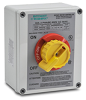 Manual motor controller, enclosed rotary switch type, mounted in ... -- 664X33D -- View Larger Image
