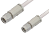 3.5mm Male to 3.5mm Male Cable 18 Inch Length Using PE-SR402AL Coax -- PE34572-18 -Image