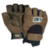 Half-Finger Lifter's Gloves - Large -- GLV1025L