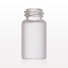 Glass Bottle, Frosted -- 74251 -Image
