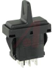 Switch, Paddle, Double Pole, (ON)-NONE-(ON), 20 Amp, 12 Volt -- 70131655 - Image