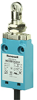 MICRO SWITCH NGC Series Global Limit Switch: metal housing, panel-mount roller plunger, bottom exit connection with 1,0 m [3.28 ft] standard cable, 1NC/1NO snap action silver contacts, UL, CE, cUL, an -- NGCMB10AX01P