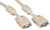 VGA Video Cables with Ferrite Core, Beige, Female/Female, 10-ft. (3.0-m) -- EVNPS06-0010-FF