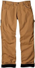 Dickies DU258RBD-32*30 Fleece Lined Carpenter Jeans, Brown -- JEANSFLECARBRO3230