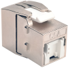Toolless Cat6a Keystone Jack, Gray -- BHDBT-001-KJ-GY