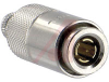 connector,rf coaxial,1.0/2.3 straight plug,crimp-crimp,for rg/u 58 cable -- 70142640