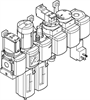 MSB4N-1/4:C3J4M1D7A1F3-WP Filter/Regulator/Lubricator Unit -- 550490