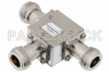 Circulator With 18 dB Isolation From 4 GHz to 8 GHz, 10 Watts And N Female -- PE8412 - Image