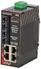 SL-6RS Ethernet Ring Switch with Monitoring, SC 60km -- SL-6RS-5SCL-D1 -Image