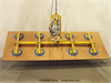 Eight Pad Electric Powered Vacuum Lifter with Powered Tilt -- ET200M8-120-4/44