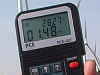 Air Velocity / Temperature Data Logger PCE-007