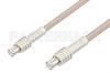 MCX Plug to MCX Plug Cable 12 Inch Length Using RG316 Coax, RoHS -- PE3297LF-12 -Image